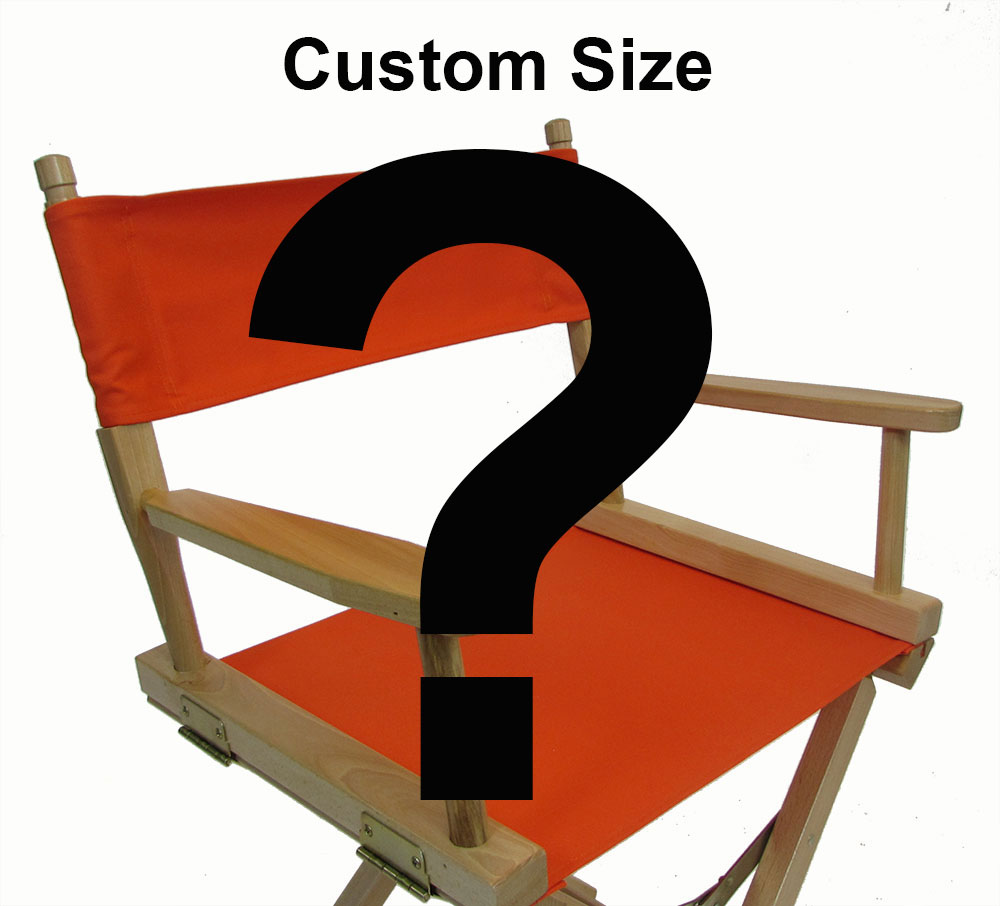 Custom Size Directors Chair Replacement Covers