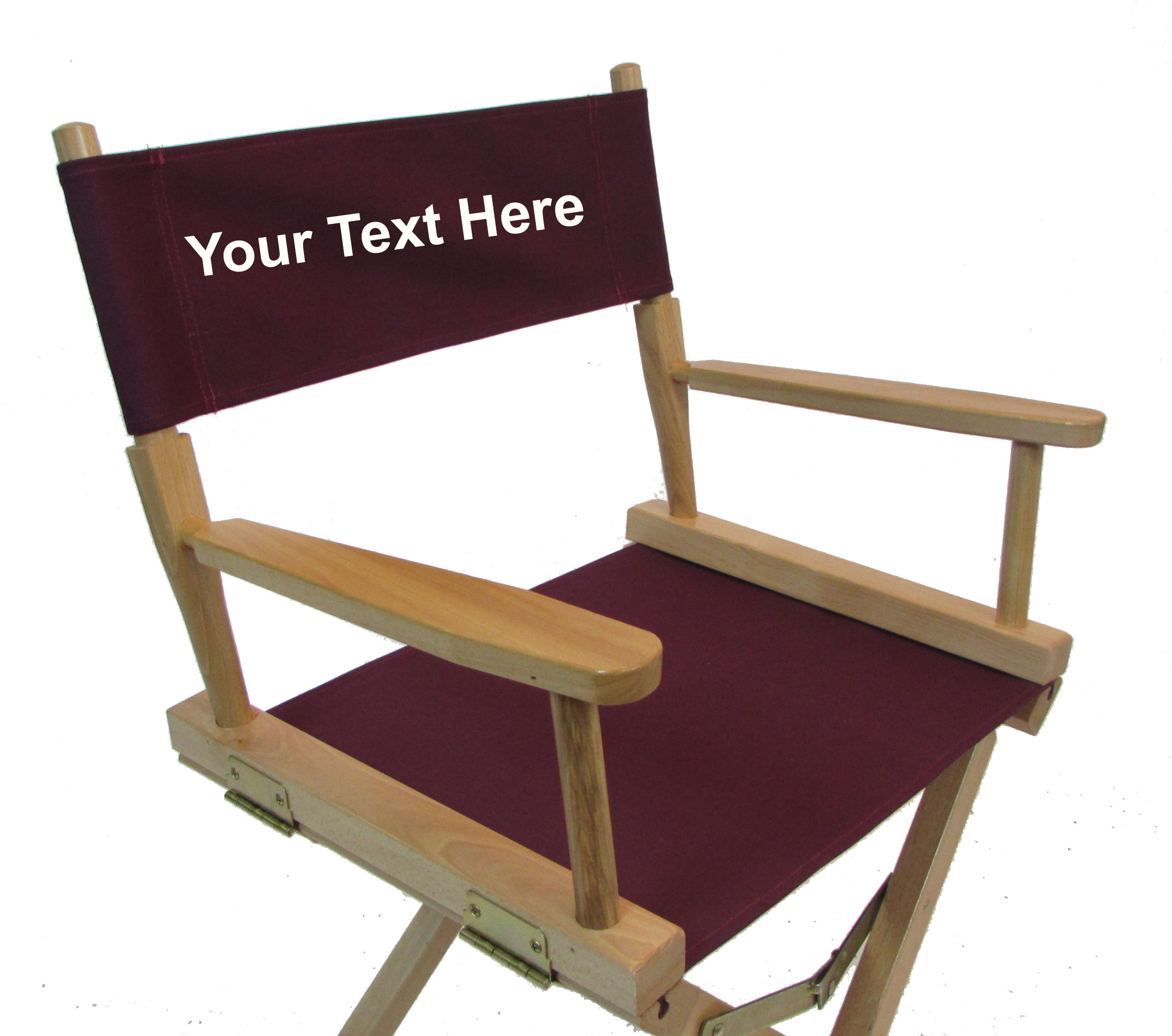 Personalized Directors Chair Replacement Covers