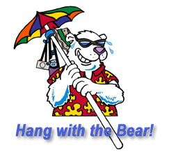 Pole-R Bear Umbrella Hook